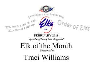 Elk of the Month february Header